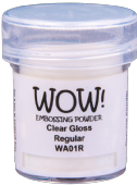 WOW! Embossing Powder - Clear Gloss - WA01R